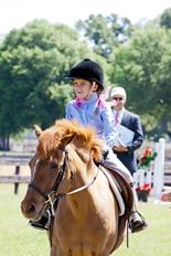 Smiling Novice Rider at Canterbury